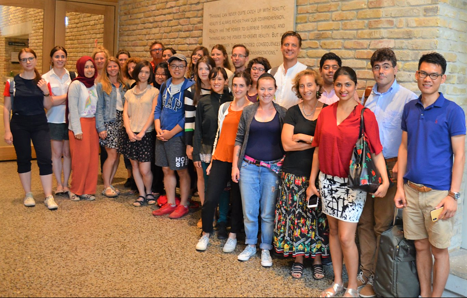 GDC Summer School in Budapest, Hungary. Class of 2018.